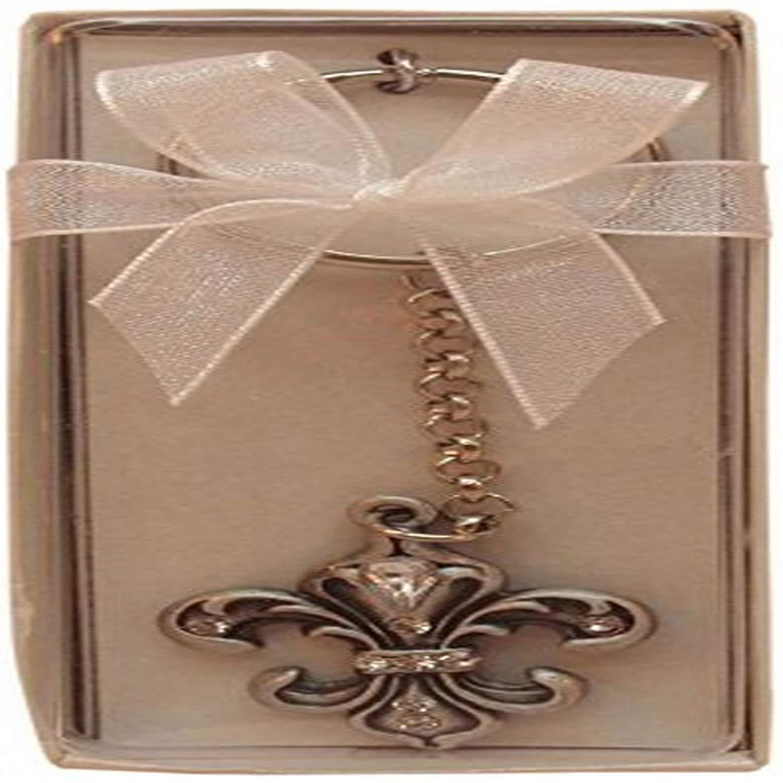 Fei Gifts Fleur De Lis Key Chain