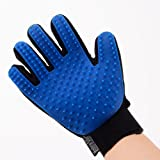 Five Finger Deshedding Glove for Quick,Gentle and Efficient Pet Grooming Great for Dogs and Cats, Right Handed Hair Removal Brush, True Original Material Handy Touch,Prime Discount by Mandarin Seller