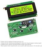 Frentaly® IIC/I2C/TWI 2004 Serial Yellow Green Backlight LCD Module for Arduino UNO R3 MEGA2560 20 X 4, 2004