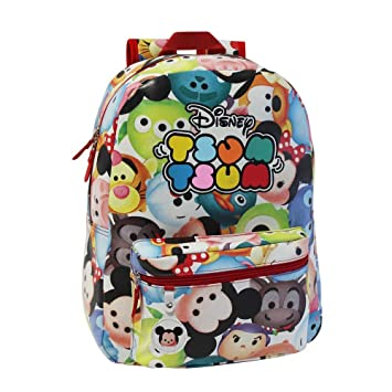Tsum Tsum Mochila Adaptable a Carro, 21.5 Litros, Multicolor: Amazon.es: Equipaje