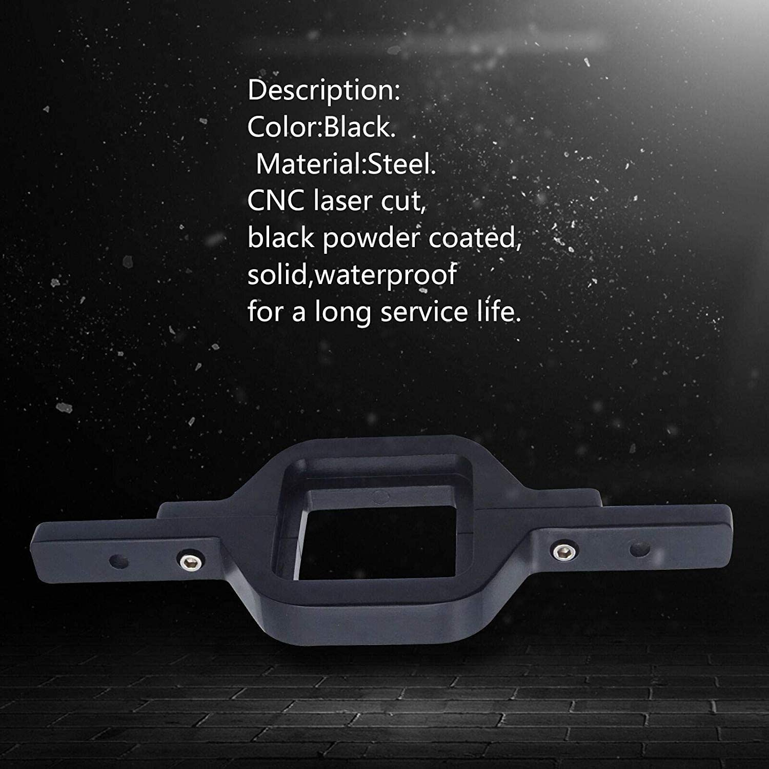 WeiSen Universal Tow Hitch Receiver Mount Bracket & 2X 18W Dual LED Work Lights Backup Rear Reverse Truck Trailer SUV Off-Road w//6.5 Meter Length Wiring Kit