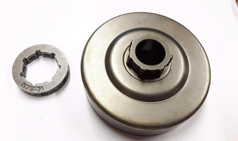 WANWU Compatible Stihl ms341 ms361 ms362 044 046 ms440 ms441 ms460 ms462 clutch drum//rim sprocket 3//8-7T