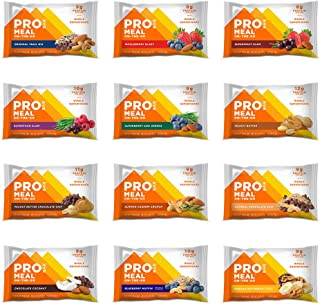 product image for PROBAR - Meal Bar, Variety Pack, Non-GMO, Gluten-Free, Healthy, Plant-Based Whole Food Ingredients, Natural Energy (12 Count)