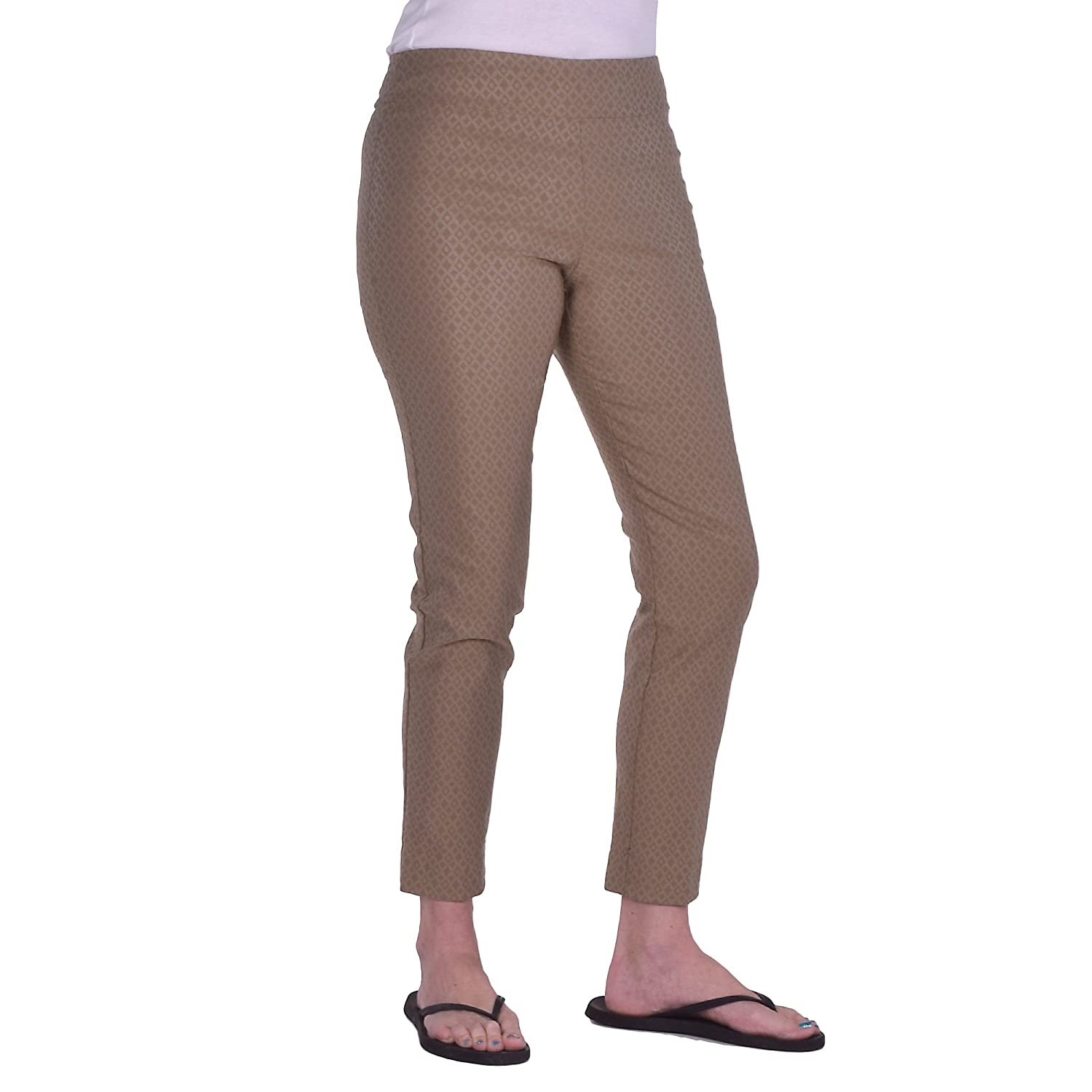 Krazy Larry PANTS レディース B0741DLSFB 6|Taupe Foil Taupe Foil 6
