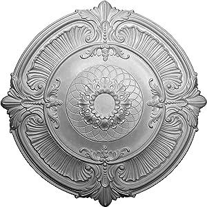Ekena Millwork CM39AT Attica Ceiling Medallion, 39 1/2