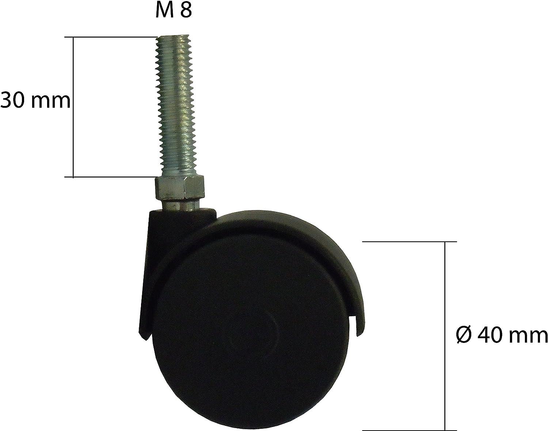 ruedas, pinzas de cierre, pl/ásticos de protecci/ón Accesorios de Notebook cama plegable