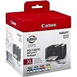 Canon pgi-1500x l BK/C/M/Y–Cartouches d'encre (Noir, Cyan, Magenta, Jaune, Haute, Maxify MB2050Maxify MB2350, Jet d'Encre, boîte)
