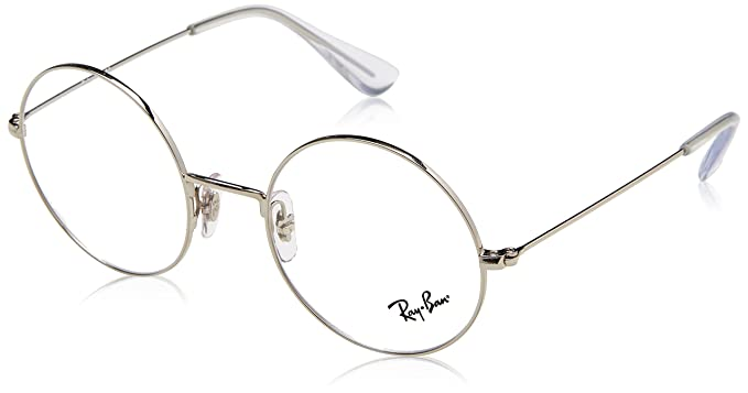84bf45914c8 Amazon.com  Ray-Ban Unisex RX6392 Eyeglasses Silver 50mm  Clothing