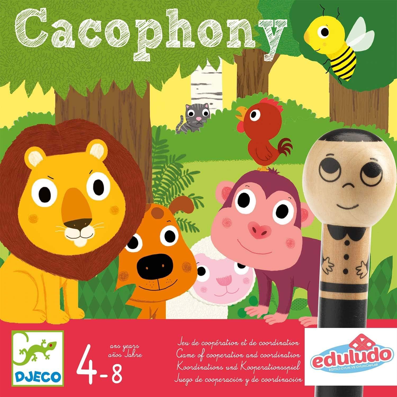 DJECO- Juegos de acción y reflejosJuegos educativosDJECOJuego Cacophony, Multicolor (15): Amazon.es: Juguetes y juegos