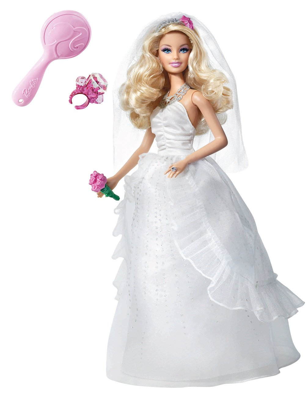 Barbie Princess Bride Doll: Amazon.co.uk: Toys & Games