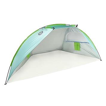 Beach Hut Cabana Tent Shade SPF 50 Portable Carry Bag Sun Protection Shelter  sc 1 st  Amazon.com & Amazon.com: Beach Hut Cabana Tent Shade SPF 50 Portable Carry Bag ...