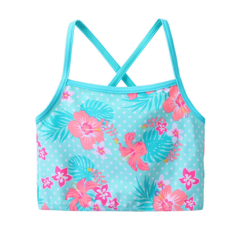 UV 3PCS Rash Guard Swimwear Sunsuits 3-11Y TFJH E Girls Swimsuit SPF UPF 50