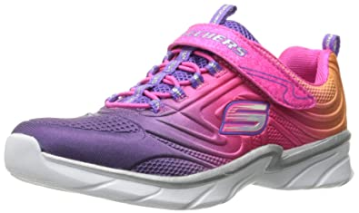 Skechers Mädchen Swirly Girl Shine Vibe Sneaker, pink
