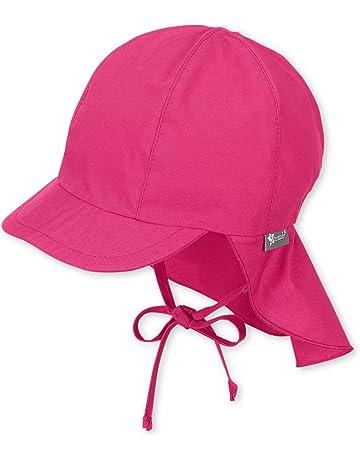 34c47c532 Sterntaler Sombrero con Protección De Cervicales Sombrero, Bebé-Niñas,  Morado