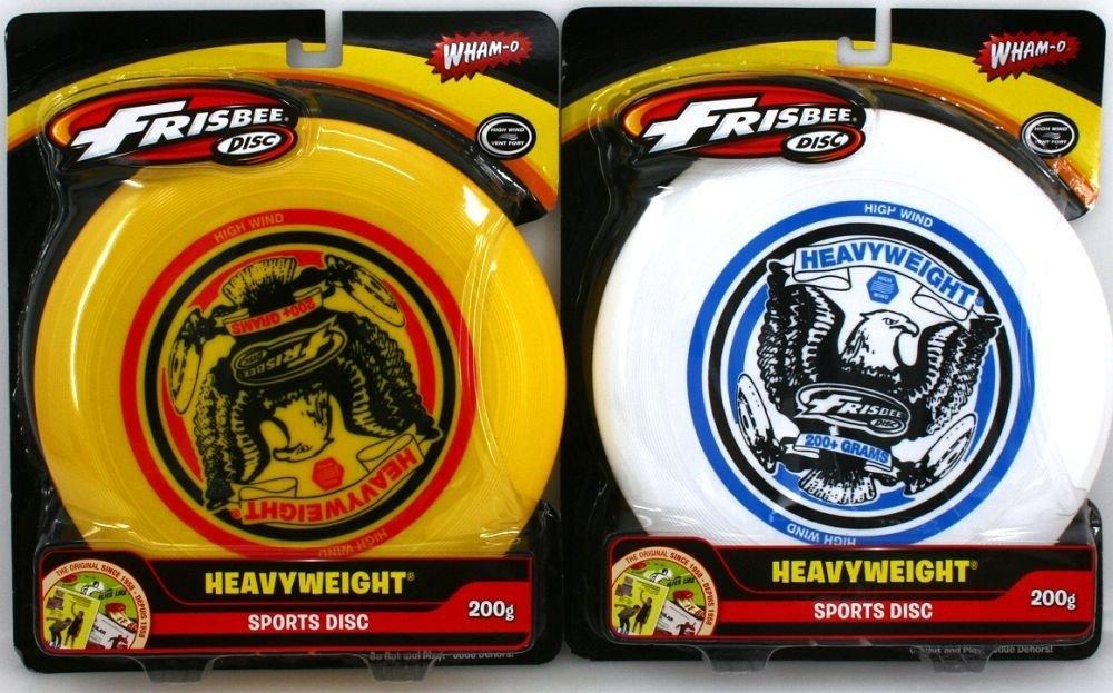 Doppelpack Frisbee HEAVYWEIGHT DISC, 200g für starken Wind