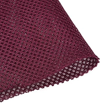 "55/""x36/"" Burgundy Speaker Acoustic Grill Cloth Stereo Audio Radio Grille Fabric"