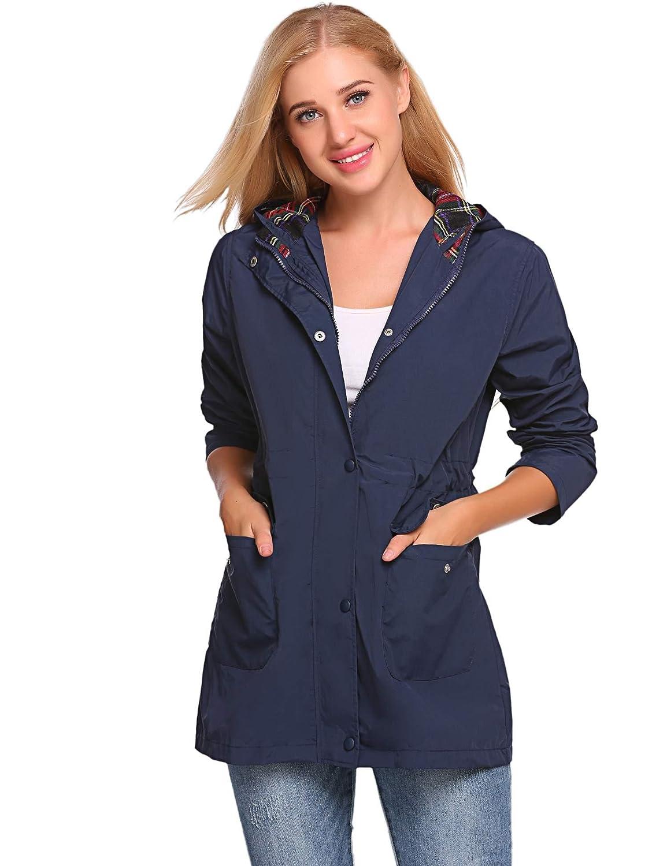FastDirect - Abrigo Impermeable - para Mujer
