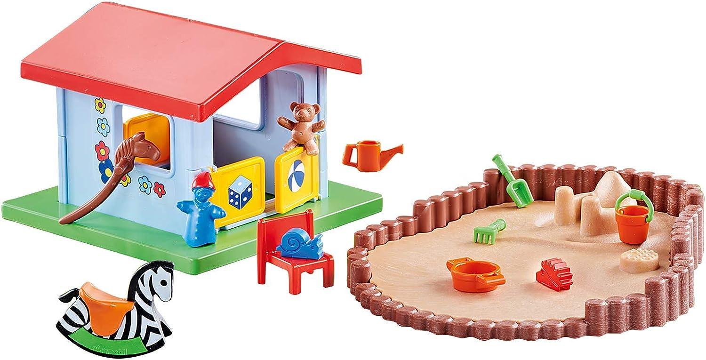 Outletdelocio. Conjunto Playmobil Casita de Juegos con Arenero. Edicion Limitada