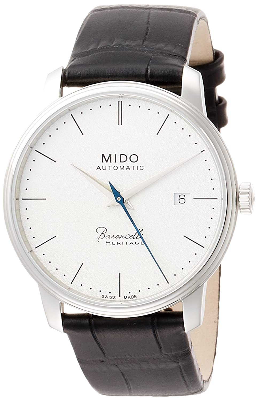 Amazon.com: Mido Baroncelli Heritage Automatic Ladies Watch  M027.207.16.010.00: Watches