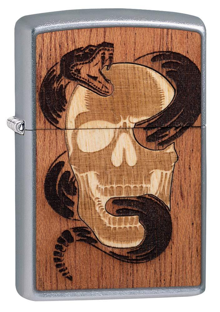 Zippo Woodchuck USA Skull & Snake