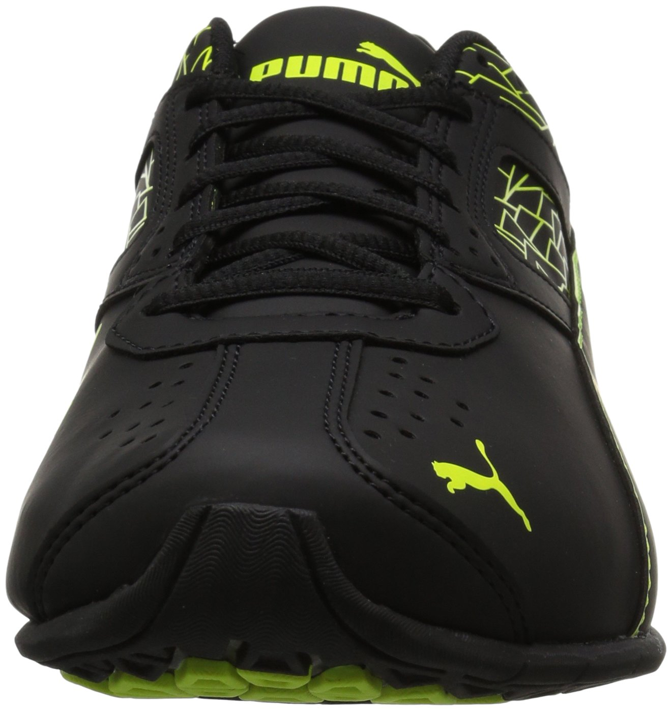 PUMA Men's Tazon 6 Fracture FM Cross-Trainer Shoe B071JH997K 10.5 M US|Puma Black-safety Yellow