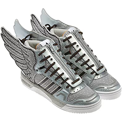 adidas jeremy scott ali 2 0 argento metallico black1