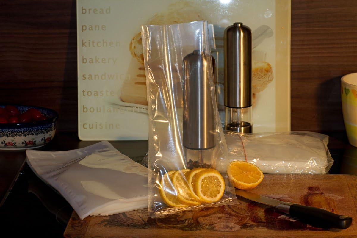 Vacuumbeutel Vakuumbeutel Siegelrandbeutel 200x300 mm transparent 90my VB044