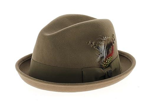 7a2cf57f9fcf Chapeau gain brixton beige  Amazon.fr  Vêtements et accessoires