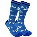 PKWY Unisex Brooklyn Dodgers Crew Socks