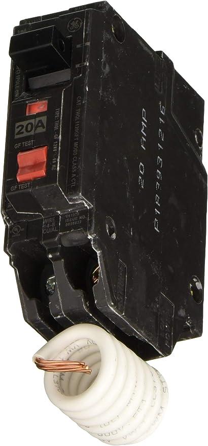 GE Energy Industrial Solutions TV206462 GE 15A SP GFCI Breaker