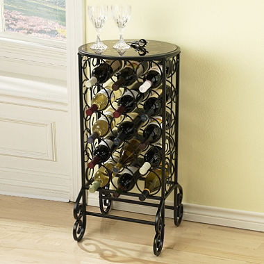 Glass Top Wine Table - Sam's Club