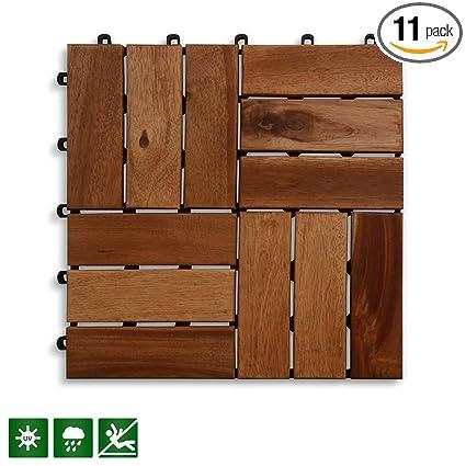 Acacia Wood Deck Tiles | Composite Decking, Flooring U0026 Patio Pavers |  Indoor And Outdoor
