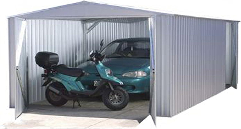 10 x 20 Metal Garaje – no Windows, Puertas correderas, Metal ...