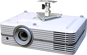 PCMD, LLC. Projector Ceiling Mount Compatible with Optoma UHD300X UHD350X UHD40 UHD50 UHD51 UHD51A (5-Inch Extension)