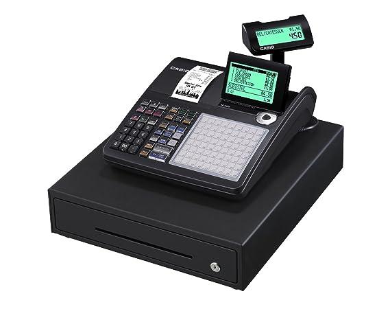 Casio SE-C450MB GDPdU - Caja registradora térmica (10 dígitos ...