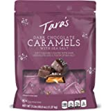 Tara's Small Batch Covered Sea Salt Soft Caramels, 3 Lbs, Dark Chocolate 3 Pound 48.6 Ounce