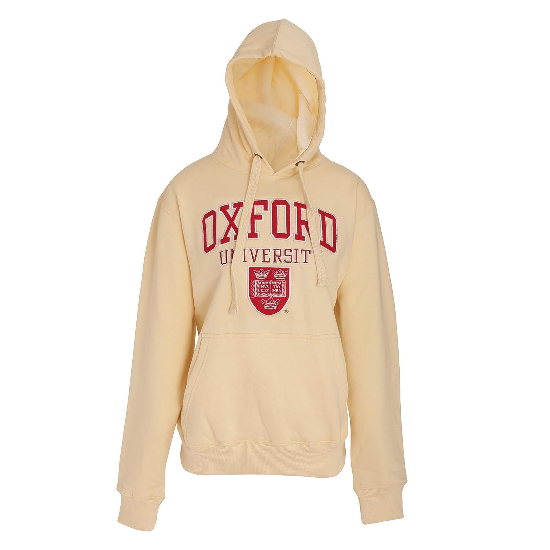 Oxford University - Sudadera con Capucha con diseño Oficial Unisex para Adulto (Grande (L)) (Crema): Amazon.es: Ropa y accesorios