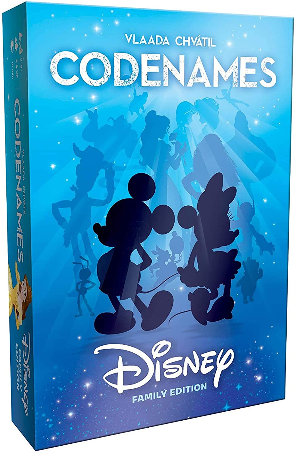 Codenames Disney Family Edition   Best Family Board Game, Great Game for All Ages   Featuring Disney Characters, Disney Artwork   Board Game for 2 Players or More   Perfect for Disney Fans