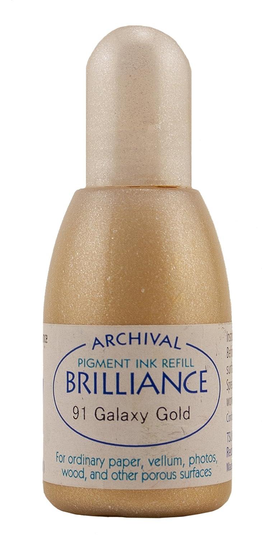 Brillantezza Refill 7 oncia liquida-Galaxy Gold Tsukineko Co Ltd RB000091