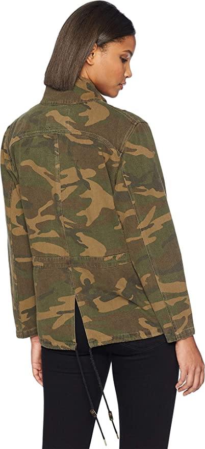 BLANKNYC Blank NYC Womens Camouflage Jacket In Brigade At Amazon Coats Shop