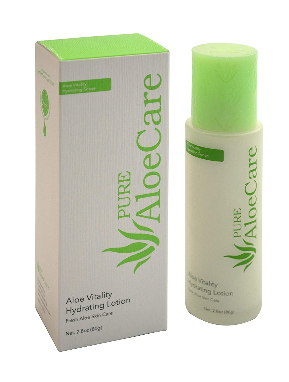 PURE AloeCare Organic Aloe Vitality Hydrating Lotion – Best Moisturizers for black skin