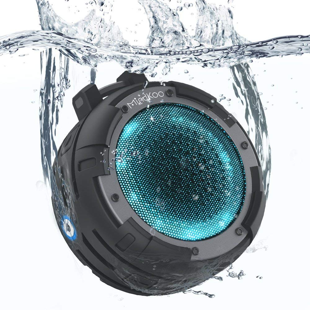 Bluetooth Speaker, MindKoo Portable Wireless Outdoor Speaker