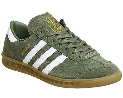adidas khaki trainers. adidas hamburg khaki white exclusive - 4 uk trainers a