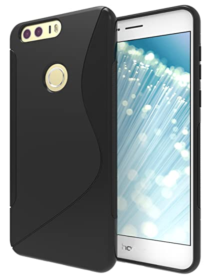 brand new 5e414 77be4 Huawei Honor 8 Case,SLMY(TM)Ultra [Slim Thin] Scratch Resistant TPU Rubber  Soft Skin Silicone Protective Cases Cover For Huawei Honor 8 Case- Black
