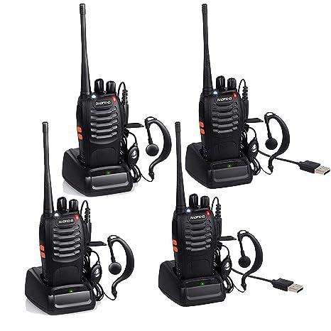 Amazon.com: byboo Baofeng BF-888S UHF 400 – 470 MHz Radio ...