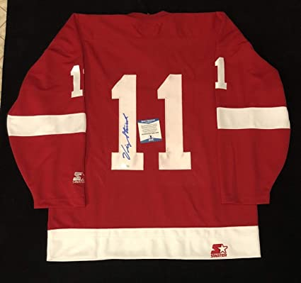Image Unavailable. Image not available for. Color  Vic Stasiuk Autographed  Signed Detroit Red Wings ... 3e08b7b5d