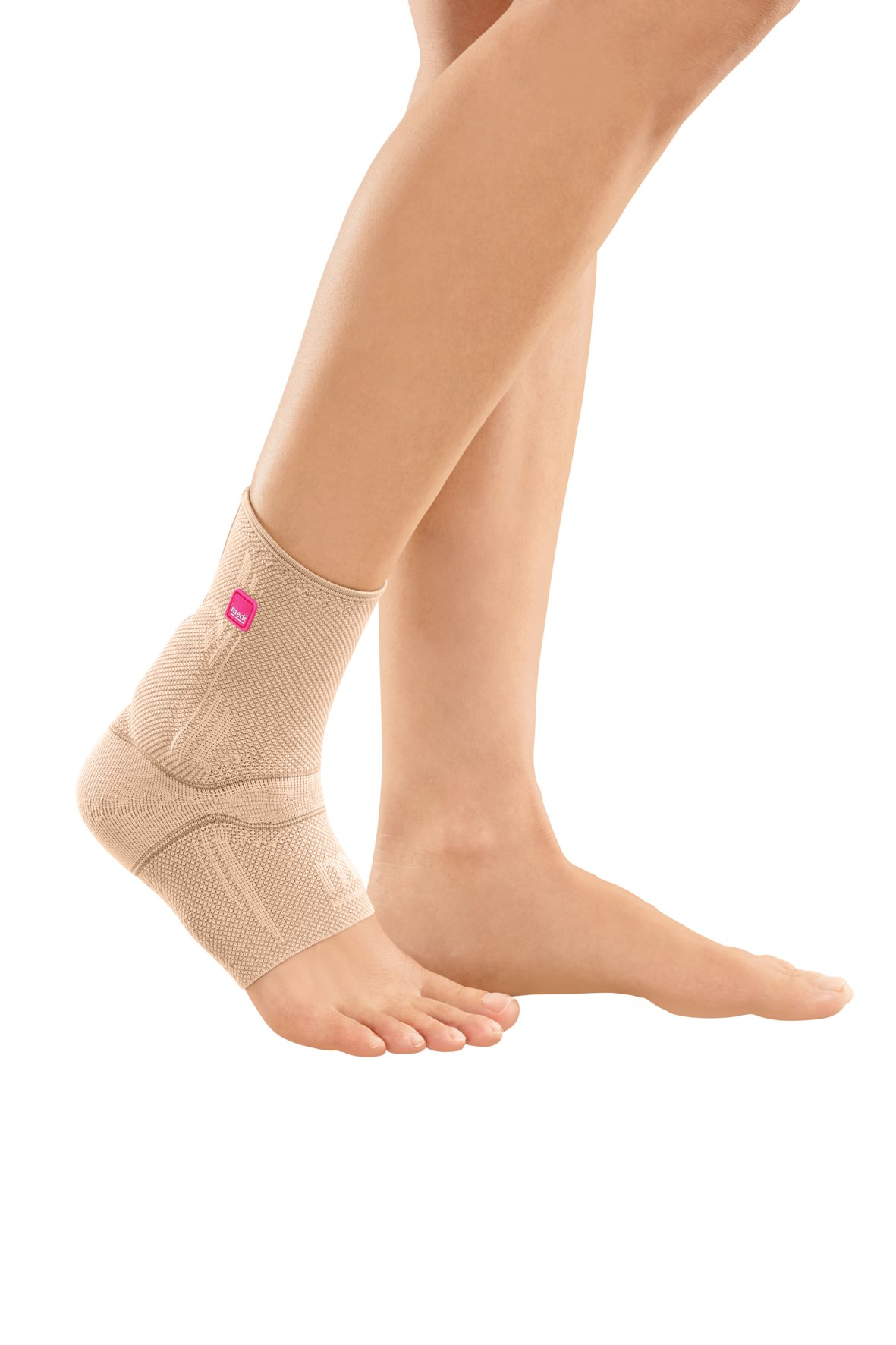 Medi Achimed Knit Ankle Support for Men & Women (Sand) Size IV by Medi Ortho