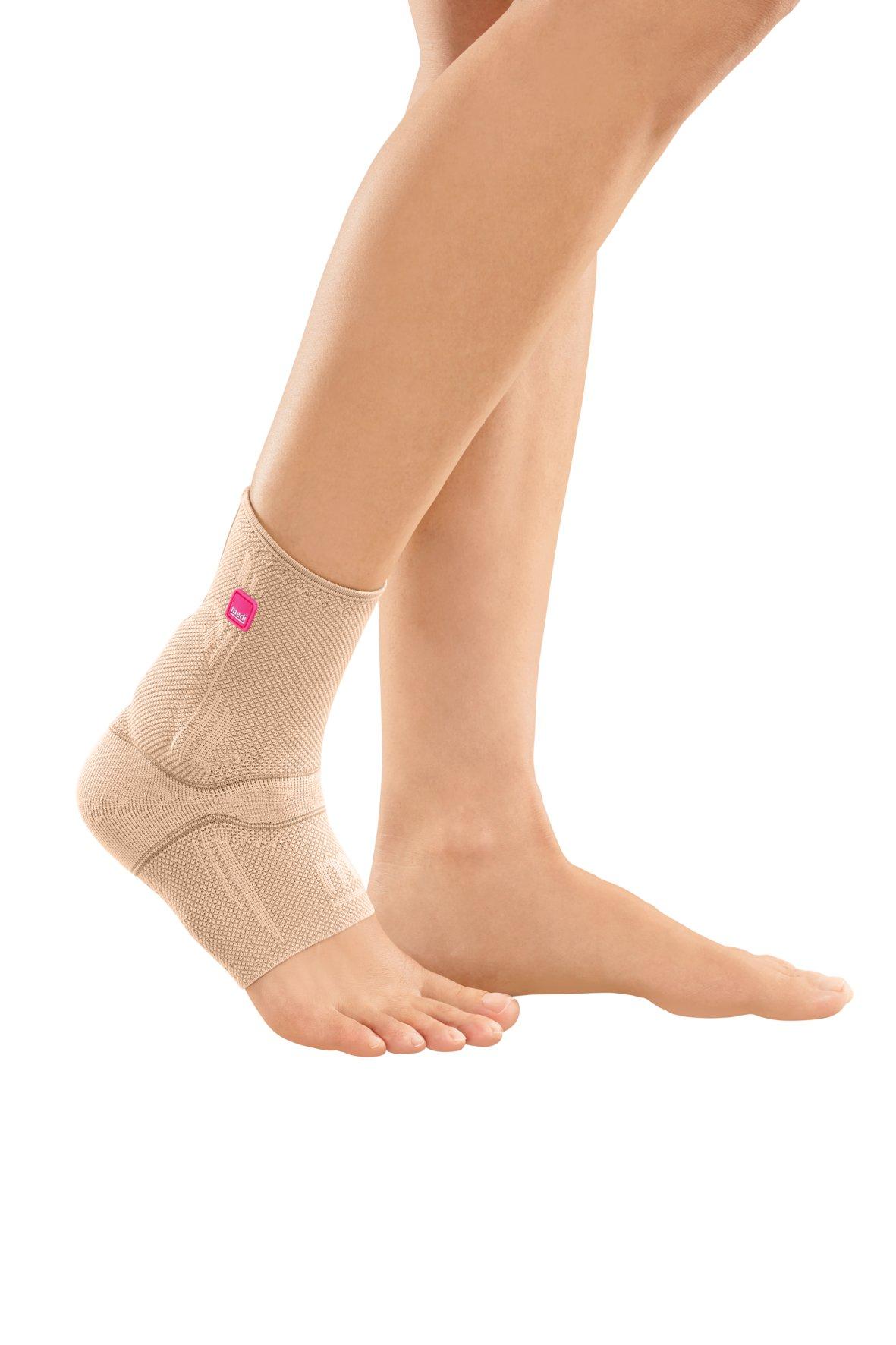 Medi Achimed Knit Ankle Support for Men & Women (Sand) Size II