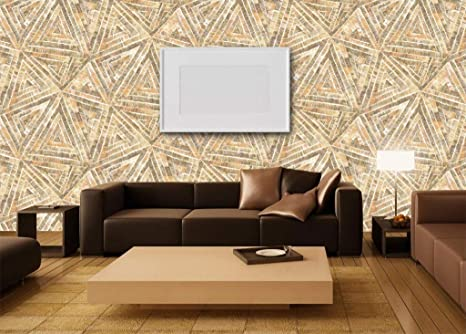 Buy Glowvia Wallpaper For Wall Decor Modern Triangle