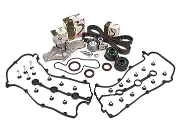 Evergreen tbk214vct Mazda MX3 MX6 626 K8 V6 K8 KL DOHC tapa correa de distribución Kit válvula bomba de agua: Amazon.es: Coche y moto
